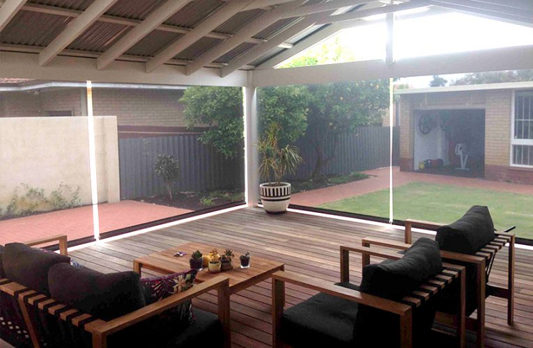How Can Retractable Blinds Outdoor Create a Good Impact?