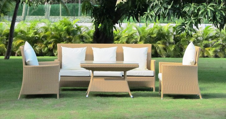 The essential to know of the 5 materials of garden furniture