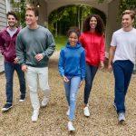 3 Ways to carry a Gildan G18500 Fleece hoodie casually
